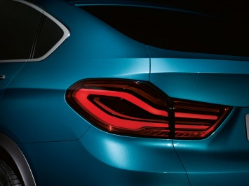 BMW Concept X4 Tail Lamp