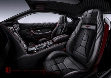 Bentley Continental GT by Vilner - Interior Design Sketch