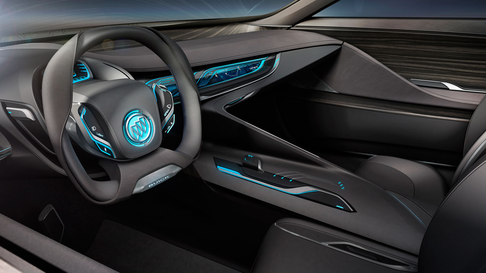 buick riviera concept interior rendering. Black Bedroom Furniture Sets. Home Design Ideas