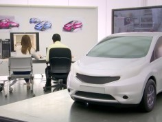 Design Video: Clay Modeling at Nissan