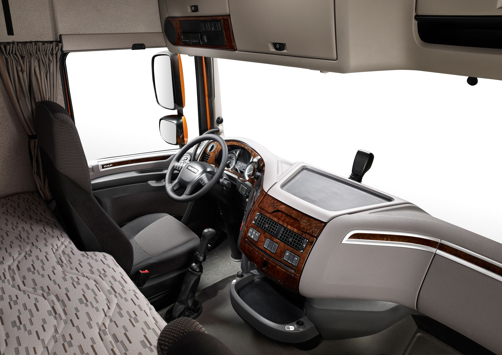 DAF XF Interior - Car Body Design