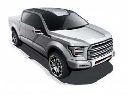 Ford Atlas Concept Design Sketch