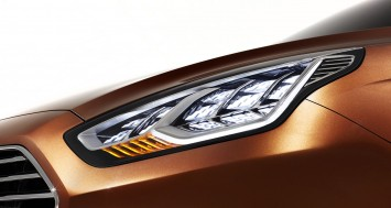 Ford Escort Concept Headlight