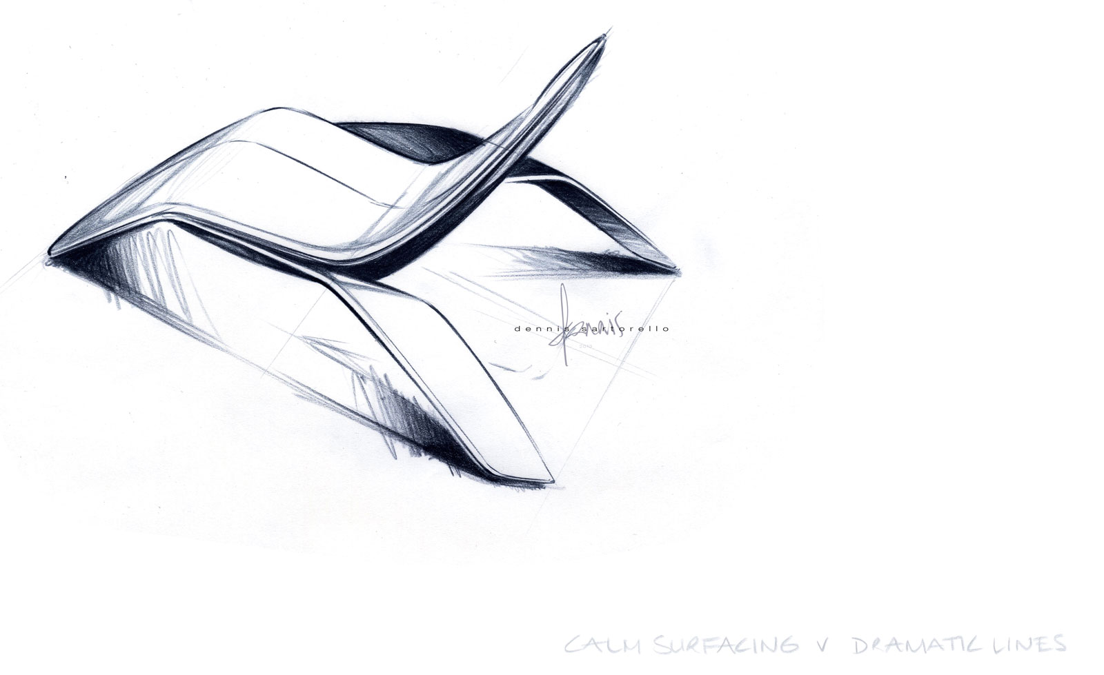 Ford design lounge chair design sketch car body design for Industrial design chair