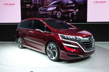 Honda Concept M at the 2013 Shanghai Show