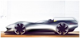 Jaguar XK-I Concept Design Sketches