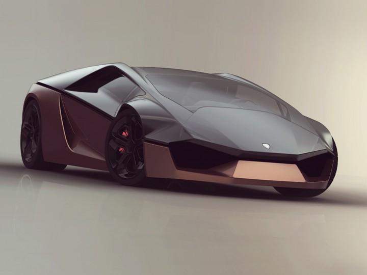 lamborghini ganador concept car body design. Black Bedroom Furniture Sets. Home Design Ideas