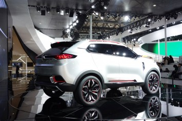 MG CS Concept at the 2013 Shanghai Show