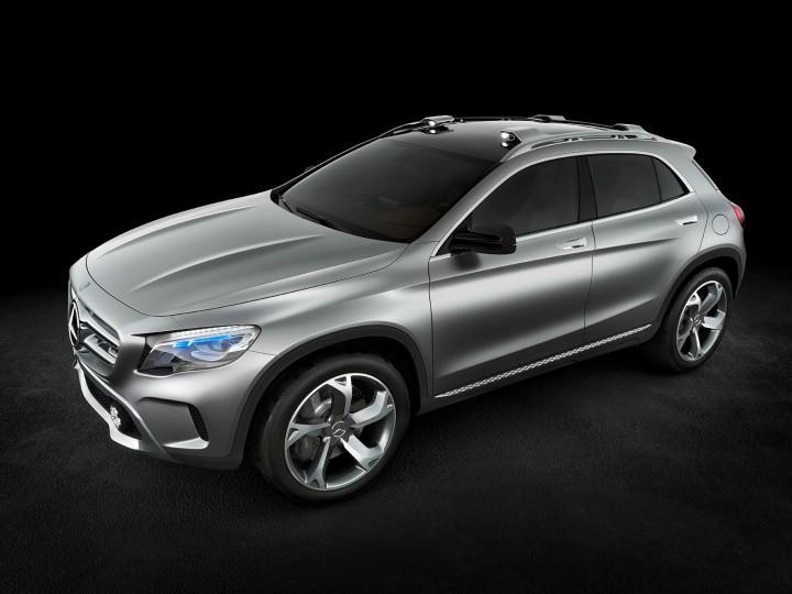Mercedes benz concept gla car body design for 2013 mercedes benz gla