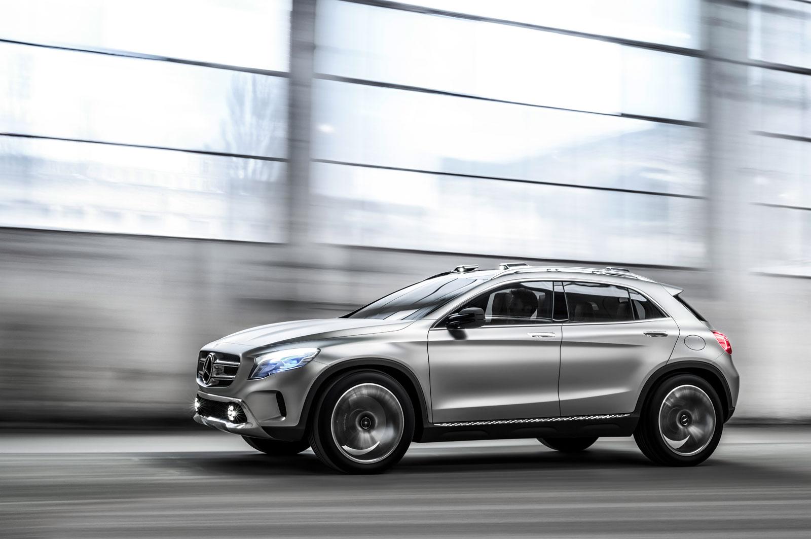 Mercedes Benz Concept Gla Car Body Design
