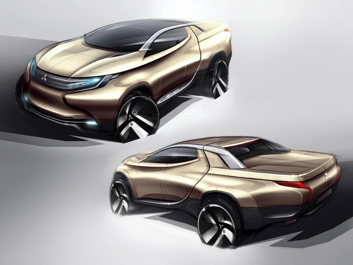 Concept GR-HEV , Geneva 2013 , Mitsubishi ...