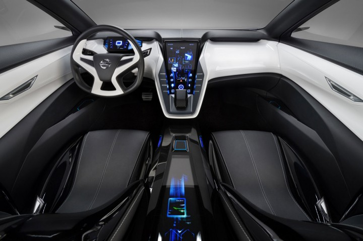 Nissan Friend-ME Concept Interior