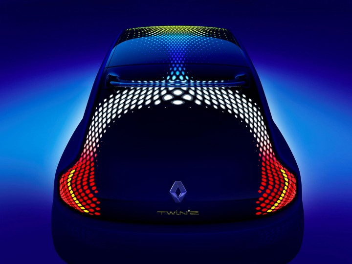 Renault Twin Z Concept Car Body Design