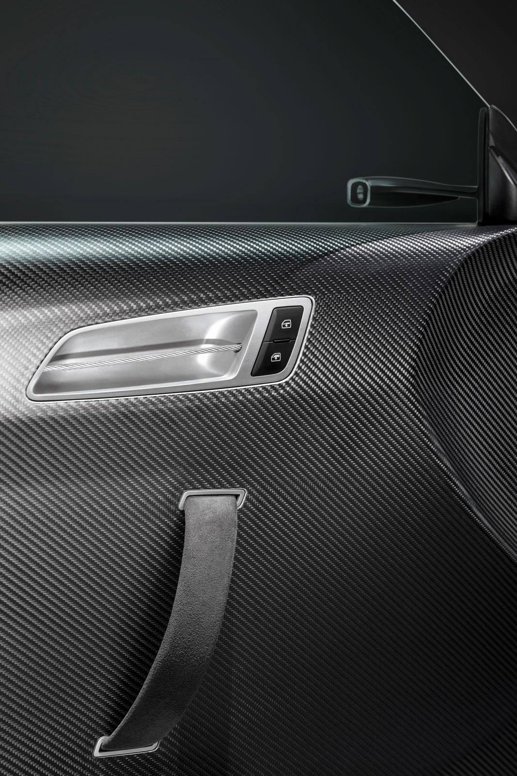 Audi tt ultra quattro concept interior door panel car for Car interior door panel designs