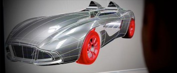 Aston Martin CC100 Speedster Concept - CAD screenshot