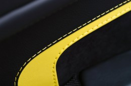 Aston Martin V12 Vantage S - Door panel stitching detail
