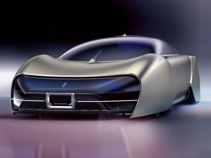 Aero Limo Concept Car Body Design