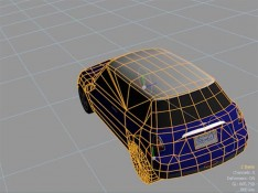 Applying-Dynamics-to-a-Car-3D-model-in-MODO-701