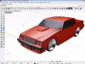 Vehicle modeling with T-Splines for Rhino 3D