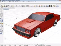 Car-Hood-3D-Moldeing-in-Rhino-and-T--Splines-Screenshot