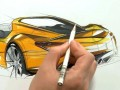 Car Sketching Video