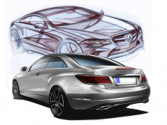 Mercedes-Benz E-Class Coupé and Cabriolet: design gallery