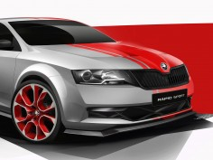 Škoda previews Rapid Sport Concept