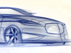 Sportscar-drawing-on-Newsprint-Paper-01