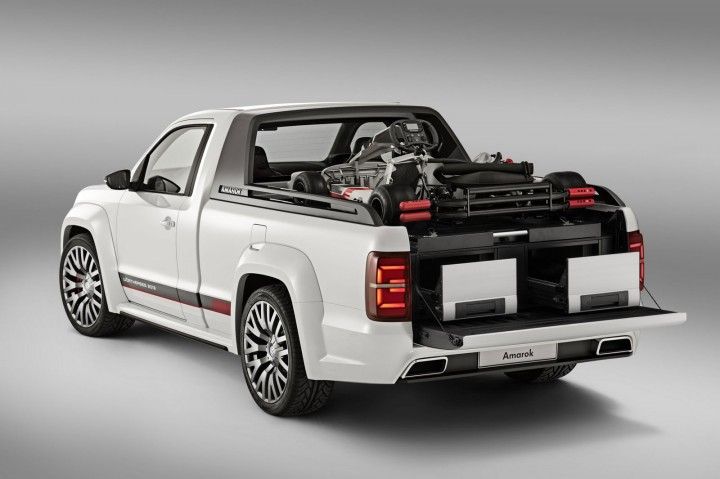 Volkswagen Amarok Power Pickup Concept Car Body Design