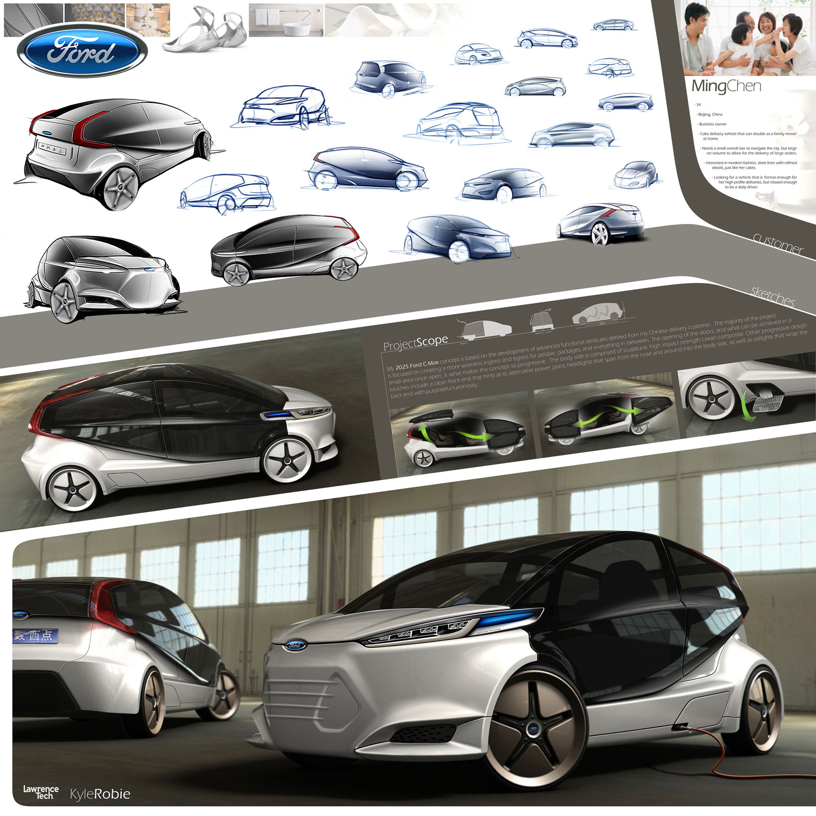2025 Ford C-MAX Concept By Kyle Robie