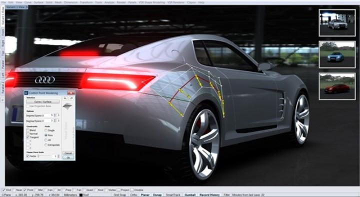 Cad software car body design autos post for Truck design software