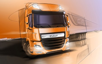 DAF CF - Design Sketch