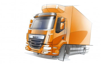DAF LF - Design Sketch