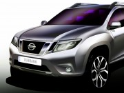 Nissan India previews new Terrano SUV