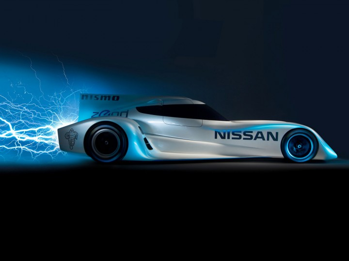 Nissan ZEOD RC Le Mans electric racing car