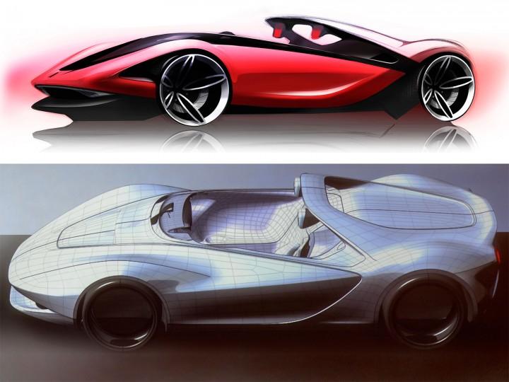 Pininfarina Sergio Concept The Design Process Car Body Design