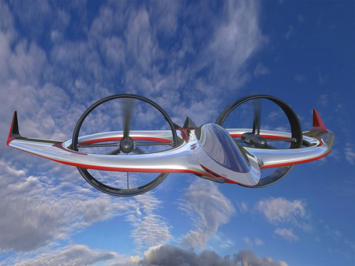 Bertone designs Project Zero electric tilt-rotor aircraft