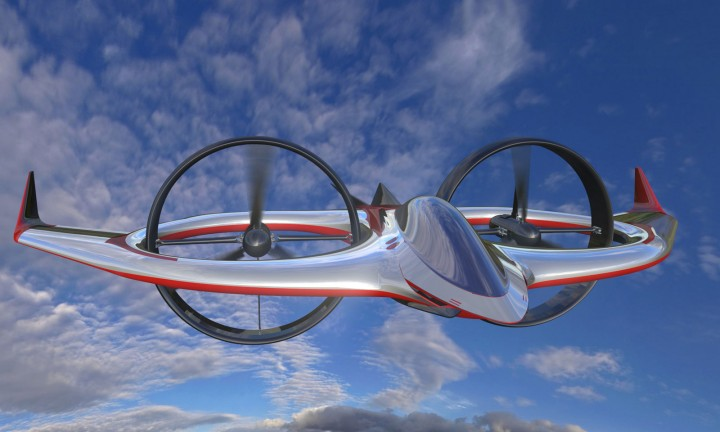 Project Zero tilt rotor aircraft