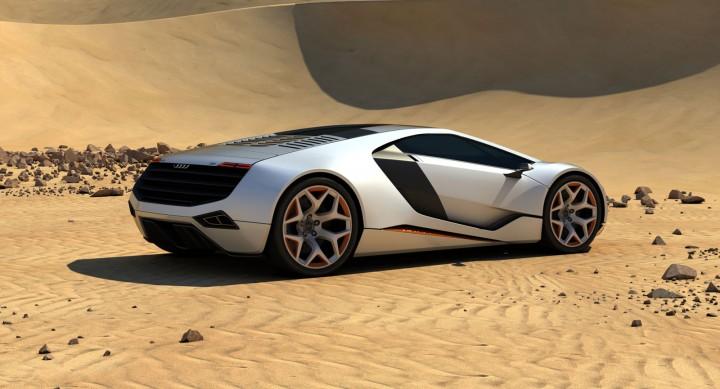 Auto Union Type C8 Concept