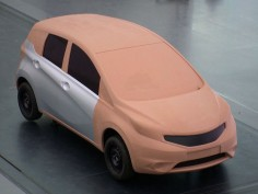Nissan Note: the design