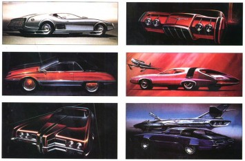 1969 Ford Styling Sketches by Homer LaGassey