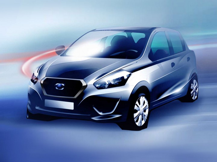 Datsun previews new-gen model with sketches