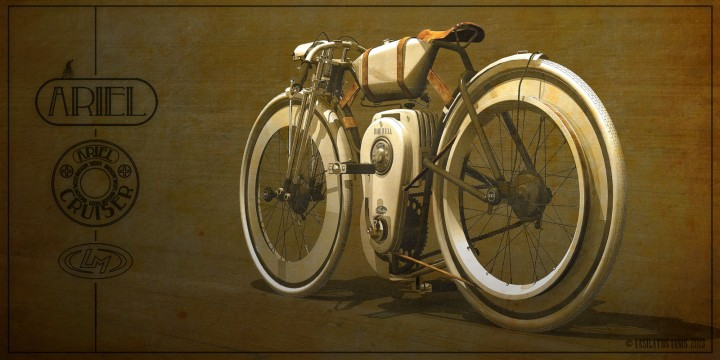 Ariel Cruiser Bike Concept by Ianis Vasilatos