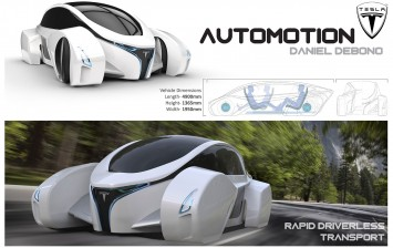 Automotion Concept by Daniel Debono - Design Board