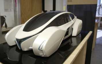 Automotion Concept by Daniel Debono Scale model