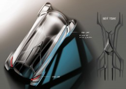 BMW Quart Concept by Yujin Kim - Design Sketches