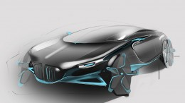BMW i-36-0 Concept by Han Yong-Fei - Design Sketch