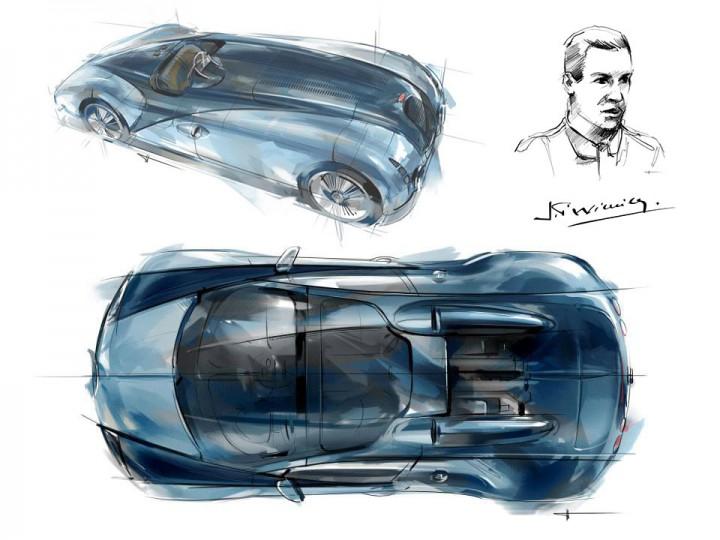 bugatti unveils veyron grand sport vitesse jean pierre wimille edition car. Black Bedroom Furniture Sets. Home Design Ideas