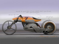 Cafe-racer-concept-speed-sketch-by-Bernie-Walsh