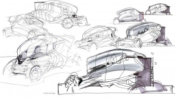 Genesis Concept by Nir Siegel - Design Sketches